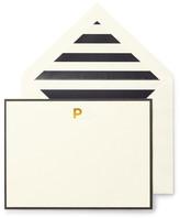 Kate Spade Monogram P Correspondence Cards - Set of 10
