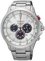 Seiko Solar Chronograph Date Bracelet Strap Watch