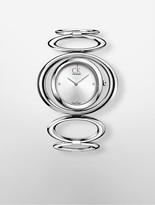 Calvin Klein Minimal Stainless Steel Mesh Watch