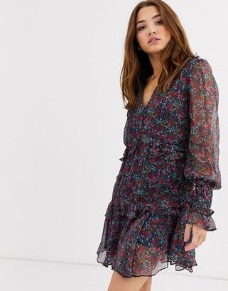 Stevie May Mercy ditsy floral print ruffle dress