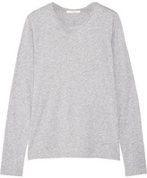 ADAM by Adam Lippes Pima Cotton-jersey Top - Gray