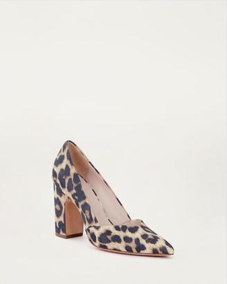 Loeffler Randall Paulina Pointy Toe Pump Leopard