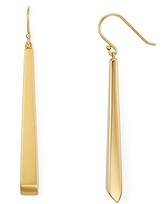 Argentovivo Thick Linear Drop Earrings