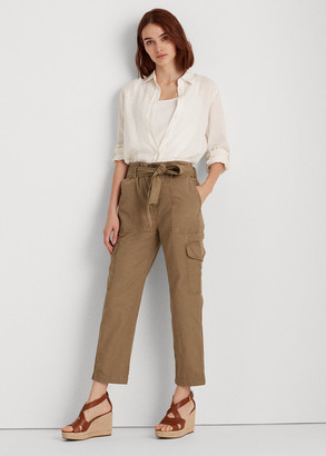 Ralph Lauren Cotton Twill Cargo Pant