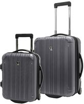 Traveler's Choice Travelers choice New Luxembourg 2-Piece Hardside Wheeled Carry-On Luggage Set