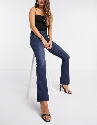 G Star G-Star mid rise bootcut jeans in mid wash