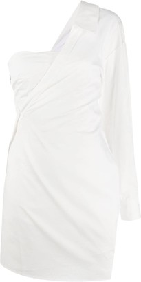 RtA One-Shoulder Cocktail Dress