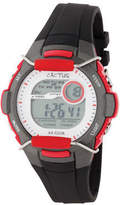 NEW Cactus Watches Shield Watch Black/Red