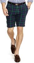 Polo Ralph Lauren Slim-Fit Tartan Linen Short
