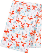 Trend Lab 48'' x 48'' Winter Moose Jumbo Deluxe Swaddle Blanket