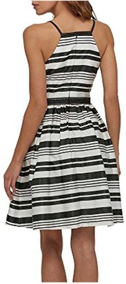 Jessica Simpson Women's Striped Party Dress