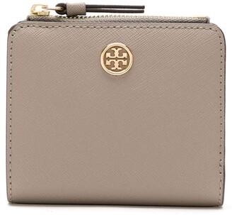 Tory Burch mini Robinson scratch-resistant wallet