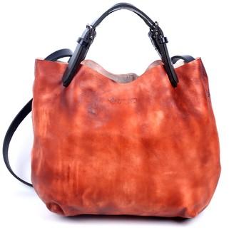 Old Trend Dip Dye Leather Mini Tote Bag