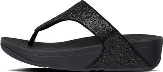 FitFlop Lulu Glitter Toe-Post Sandals