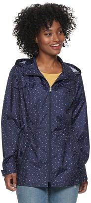 Details Women's Packable Rain Jacket