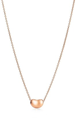 Tiffany & Co. Elsa Peretti Bean Design pendant in 18k rose gold