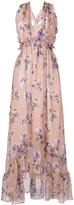 MSGM floral print dress - women - Silk/Polyester - 40