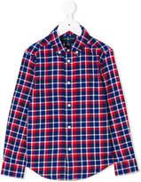 Ralph Lauren plaid buttondown shirt