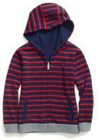 Tommy Hilfiger Stripe Reversible Hoodie