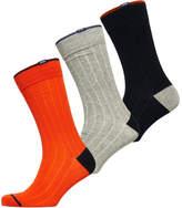 Superdry Rib City Sock Box Triple Pack