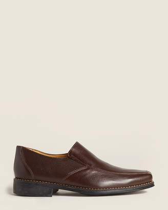 Sandro Moscoloni Brown Renzo Leather Loafers