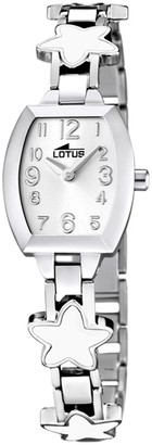 Lotus Girls Analogue Quartz Watch with Stainless Steel Strap 15833/1