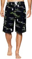 APTRO Men's Swim Trunks Net Free Board Shorts Tropical Fish Casual Shorts HWP002 XXXL