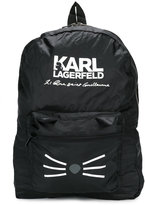 Karl Lagerfeld packable Choupette backpack