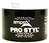 Ampro Pro-Styl Gel 10.5 oz. (3-Pack) with Free Nail File