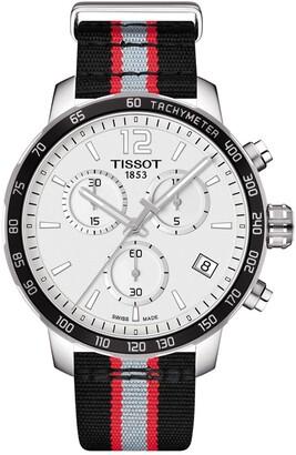 Tissot Men's Quickster Chronograph NBA Portland Trailblazers Watch, 42mm