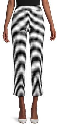 Hue Crop Gingham Trousers