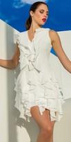 Julian Chang Romeo Ruffle Dress