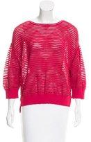M Missoni Textured Long Sleeve Sweater