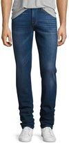 Frame L'Homme Slim-Straight Denim Jeans, Pipestone (blue)