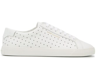 Saint Laurent Andy studded sneakers