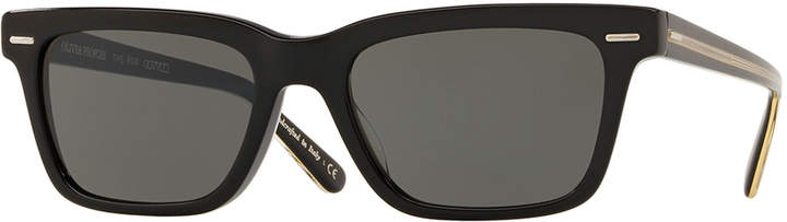 Oliver Peoples The Row BA CC Rectangle Acetate Sunglasses