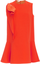 DELPOZO Ruffle Detail Mini Dress
