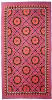 Theodora & Callum Women's Mediterranean Tile Scarf, Magenta/Multi