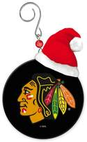 Evergreen Blackhawks Puck Ornament