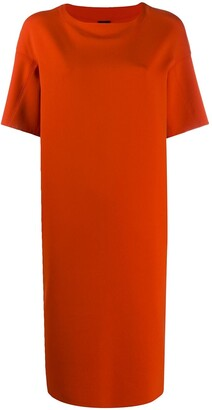 Aspesi Short-Sleeved Shift Dress