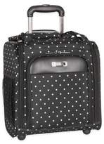 Kenneth Cole Reaction 14-Inch 2-Wheel Lightweight Underseater Carry On in Black Dot