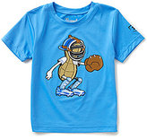 Under Armour Little Boys 2T-7 Peanut Catcher Graphic Short-Sleeve Tee