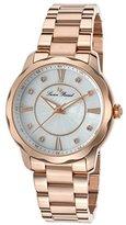 Lucien Piccard Women's LP-40000-RG-22MOP Balarina Rose Gold-Tone Stainless Steel Watch