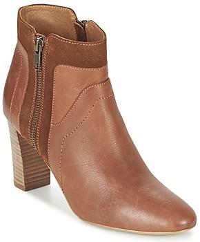 Petite Mendigote RAFIKI women's Low Ankle Boots in Brown