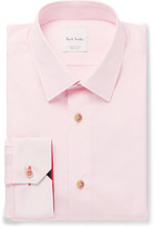 Paul Smith - Pink Soho Slim-fit Cotton-poplin Shirt