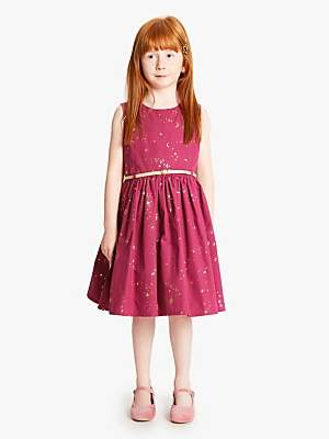 John Lewis & Partners Star Prom Dress, Pink