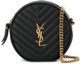 Saint Laurent Vinyle quilted bag