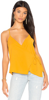 WYLDR Cross Back Tank in Yellow
