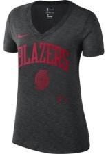 Nike Portland Trail Blazers Women's Dry Slub V-Neck T-Shirt