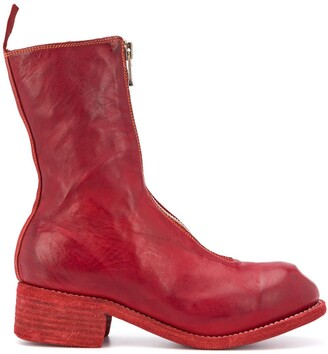 Guidi Zipped-Up Boots